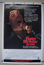 Happy Birthday to Me (1981) Horror Poster Glenn Ford - US One Sheet